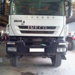 Iveco Trakker Diesel na gazie Autolukasz Przod