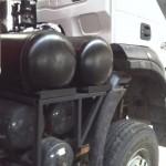 Iveco Trakker Diesel na gazie Autolukasz bok