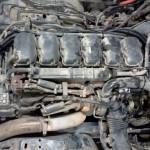 Scania R420 Diesel na gazie Autolukasz Silnik