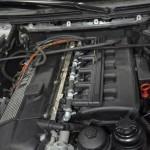 Autołukasz BMW E46 330CI Montaż instalacji gazowej komora silnika wtryskiwacze