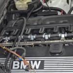 Autołukasz BMW E46 330CI Montaż instalacji gazowej komora silnika wtryskiwacze zblizenie