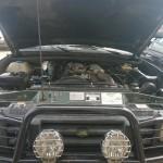 Auto terenowe Range Rover Diesel na LPG silnik Scalmax DDF przod