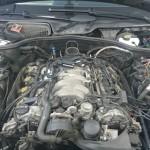 Mercedes S500  montaz LPG  silnik 1024