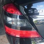 Mercedes S500  montaz LPG  tył 1024