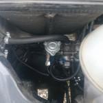 Autołukasz Mercedes sprinter na gazo-dieslu SCALMAX 315 CDI montaż reduktora