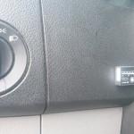 Autołukasz Mercedes sprinter na gazo-dieslu SCALMAX 315 CDI przelacznik w kabinie