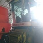 Sieczkarnia rolnicza CLAAS na gazo dieslu SCALMAX SM048 DDF przod