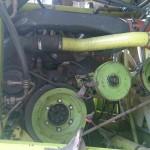 Sieczkarnia rolnicza CLAAS na gazo dieslu SCALMAX SM048 DDF przod silnik mercedesa