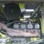 Sieczkarnia rolnicza CLAAS na gazo dieslu SCALMAX SM048 DDF silnik mercedesa