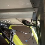 Jaguar Claas 685 kosiarka do trawy na gazo dieslu SCALMAX DDF fusion of fuels zdjecie montazy komputera ECU placment