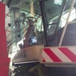 Jaguar Claas 890 sieczkarnia do kukurydzy DDF gazo diesel autolukasz zdjecie kabina z zewnatrz
