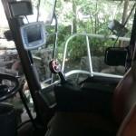 Jaguar Claas 890 sieczkarnia do kukurydzy DDF gazo diesel autolukasz zdjecie kokpit sterowniczy