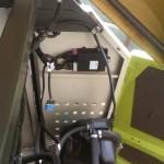 Jaguar Claas 890 sieczkarnia do kukurydzy SCALMAX DDF gazo diesel autolukasz zdjecie montaz komputera gazo diesla DDF ECU placement