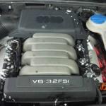 Autolukasz LPG w Audi A6 3.2 FSI gaz zamontowany widok silnika