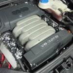 Autolukasz LPG w Audi A6 3.2 FSI gaz zamontowany widok silnika 2