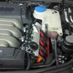 Autolukasz LPG w Audi A6 3.2 FSI gaz zamontowany widok silnika 3