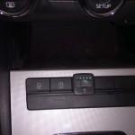 Autolukasz montaz LPG w Skodzie Octavi 1.4 TSI przelacznik zainstalowany w kabinie