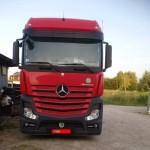 Autolukasz ACTROS EURO6 ZWOLNIENIE Z TOLL COLLECT SCALMAX Blue Diesel CNG